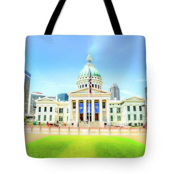 St. Louis Capital Tote Bag