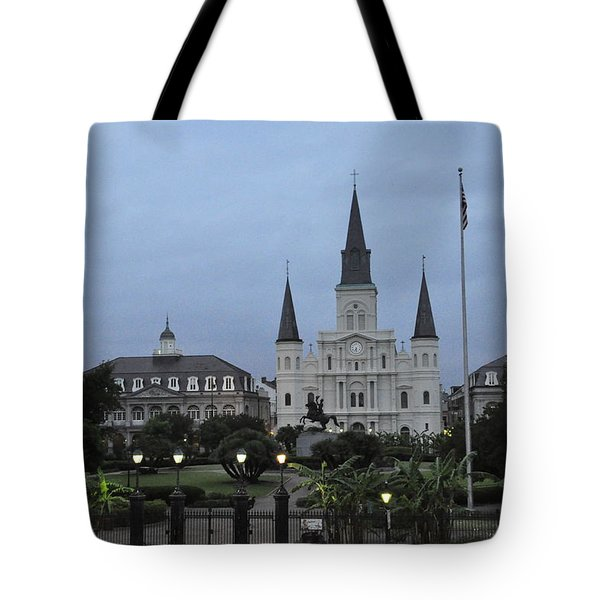St. Louis Catherderal Tote Bag