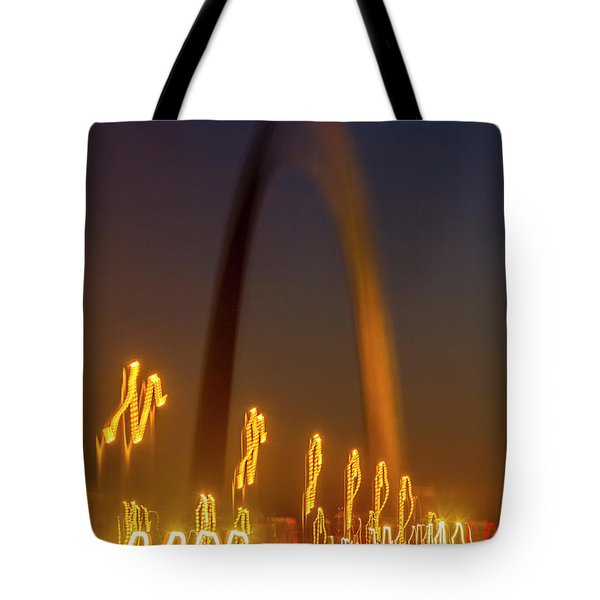 St Louis Heartbeat Tote Bag