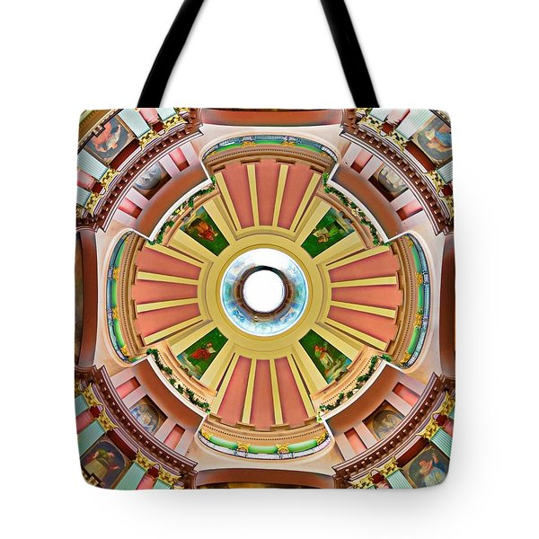 St Louis Old Courthouse Dome Tote Bag