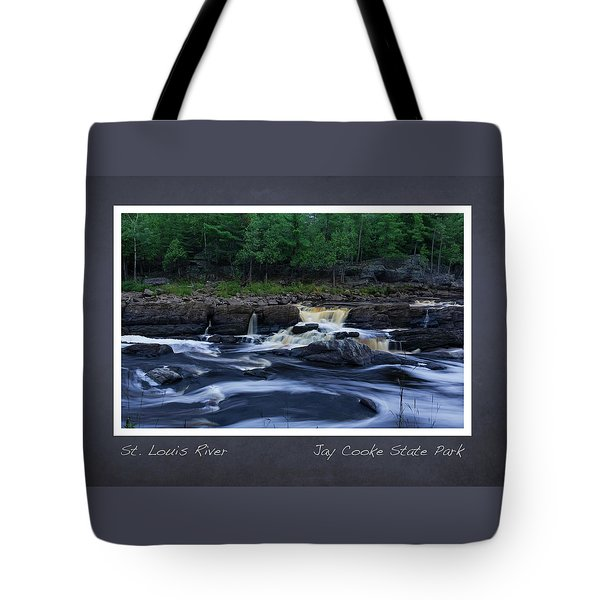 Tote Bag featuring the photograph St Louis River Scrapbook Page 1 by Heidi Hermes