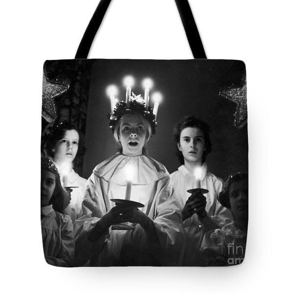 St. Lucia Day Tote Bag by Granger