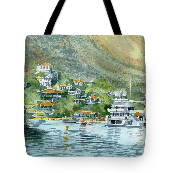 St. Maarten Cove Tote Bag