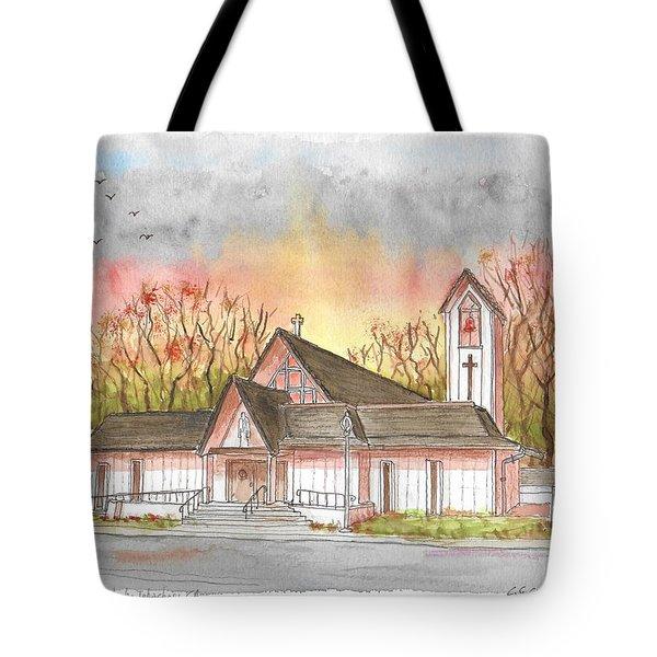 St. Malachy Church, Tehachapi, California Tote Bag