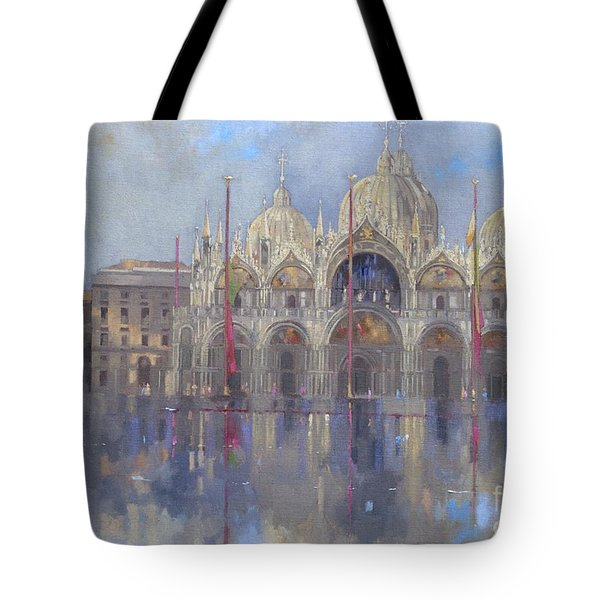 St Mark's -venice Tote Bag by Peter Miller