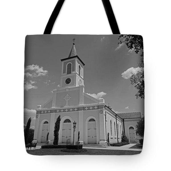 St. Martinville Church Tote Bag