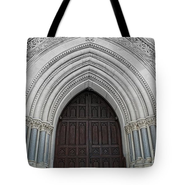 St. Mary Cathedral- Austin Texas Tote Bag