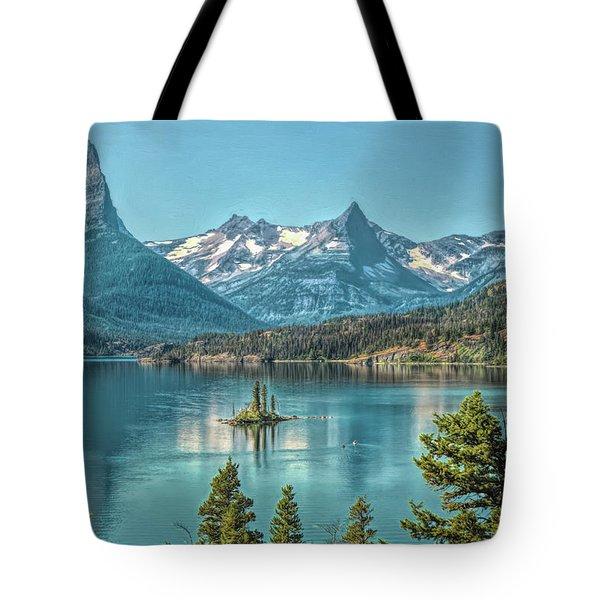 St Mary Lake Tote Bag