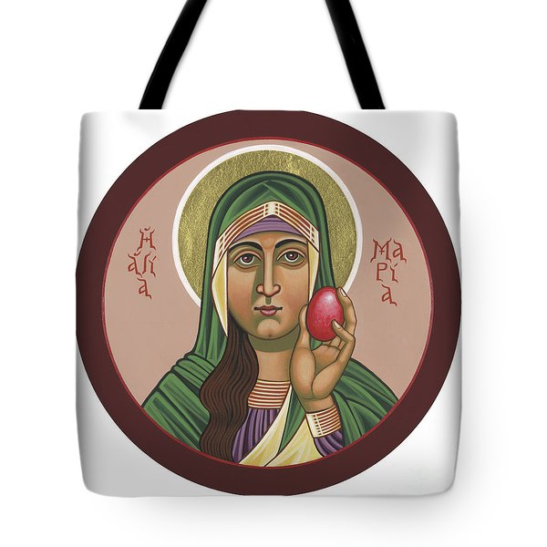 Tote Bag featuring the painting St Mary Magdalen Preaches To Pontius Pilate 292 by William Hart McNichols
