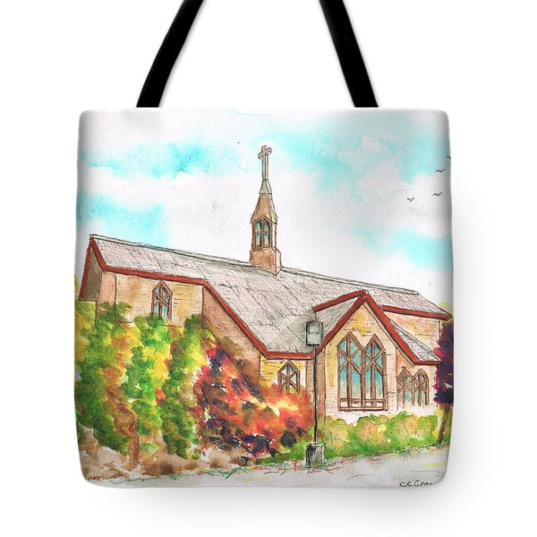 St. Mary's Catholic Church, Brighton, Utah Tote Bag