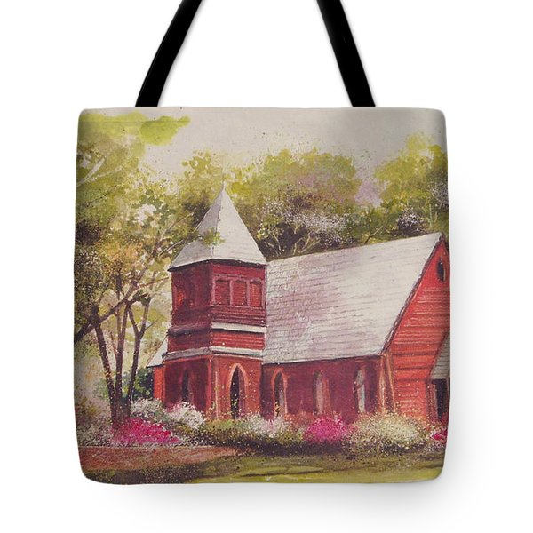 St. Mary's Chapel Tote Bag by Charles Roy Smith