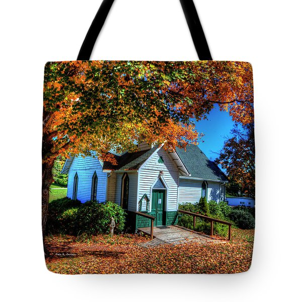 St Mary's Church Tote Bag by Dale R Carlson