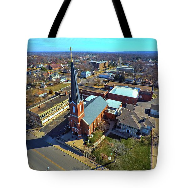 St. Marys Tote Bag by Dave Luebbert