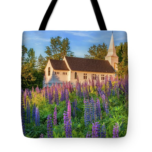 St Matthews Church - Sugar Hill New Hampshire  Tote Bag