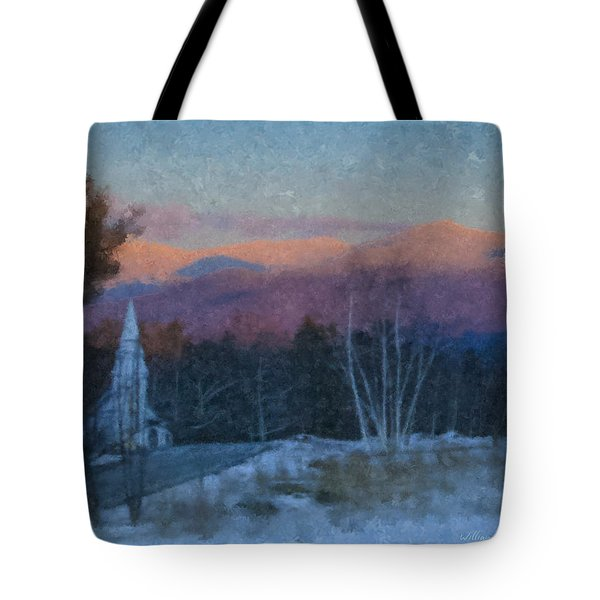 St. Matthews On Sugar Hill Road Tote Bag