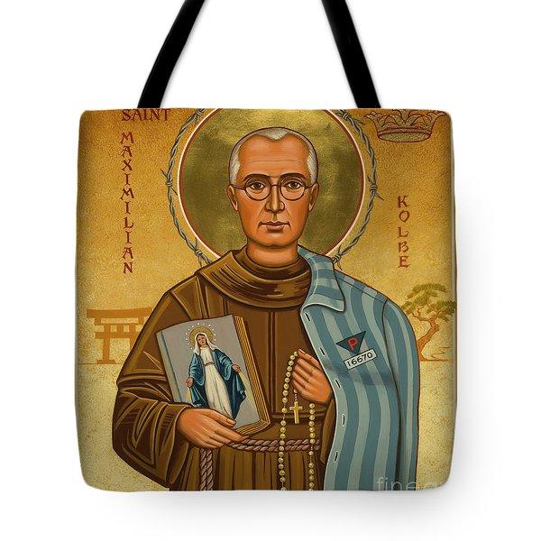 St. Maximilian Kolbe - Jckol Tote Bag