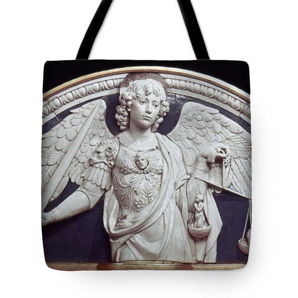 St. Michael The Archangel Tote Bag by Granger