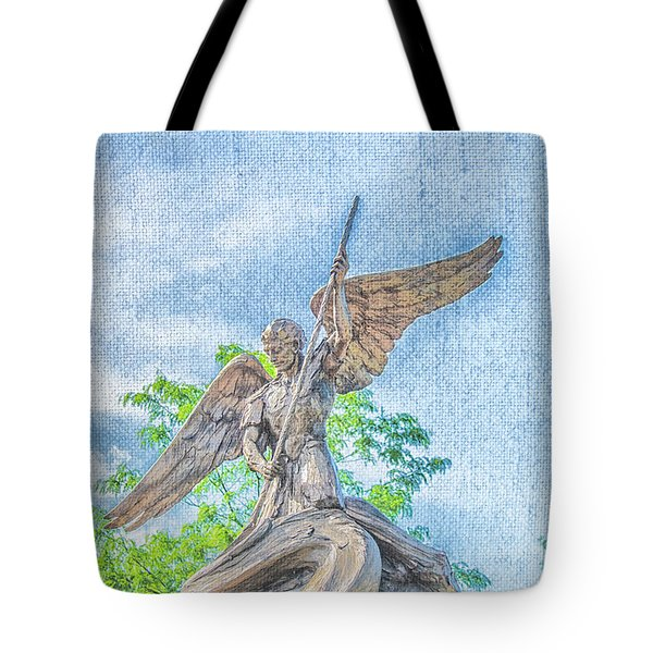 St Michael The Archangel Tote Bag