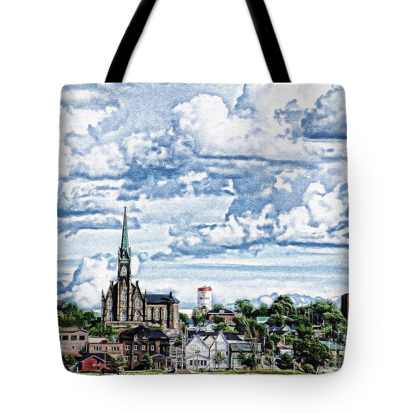 St Michaels Basilica Tote Bag