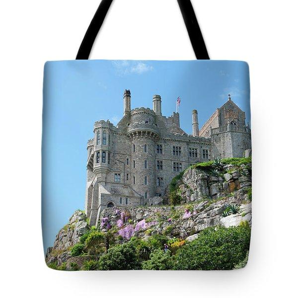 St Michael's Mount Castle Tote Bag