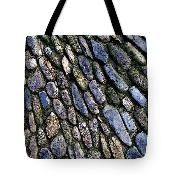Tote Bag featuring the digital art St Michael's Path by Julian Perry