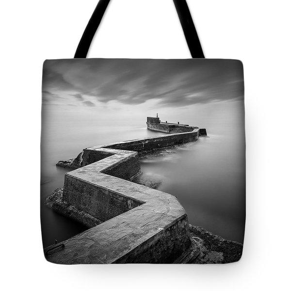 St Monans Breakwater Tote Bag