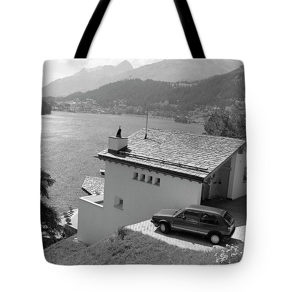Tote Bag featuring the photograph St Moritz by Jim Mathis