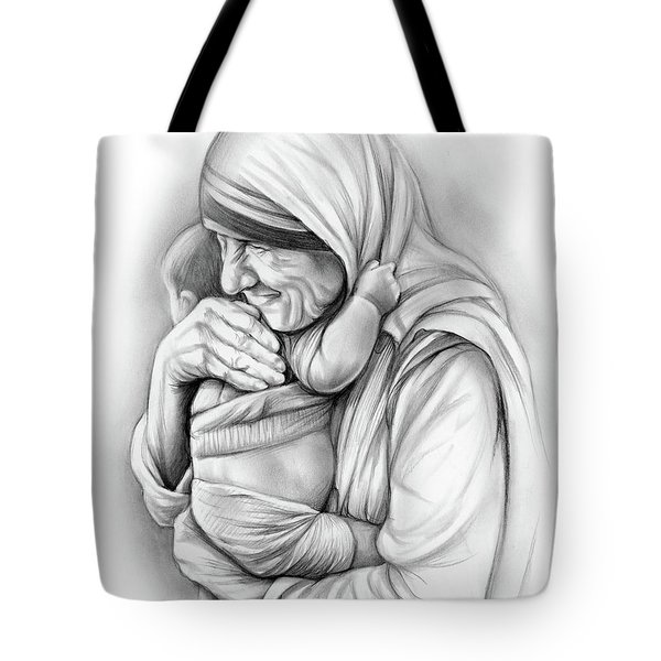 St Mother Teresa Tote Bag