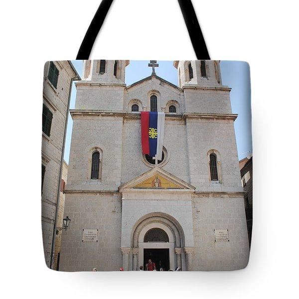 St Nicholas Kotor Tote Bag