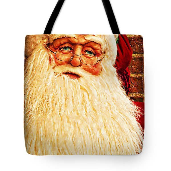 St. Nicholas Melting Canvas Photoart Tote Bag