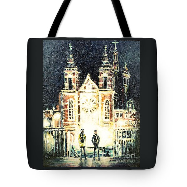 St Nicolaaskerk Church Tote Bag