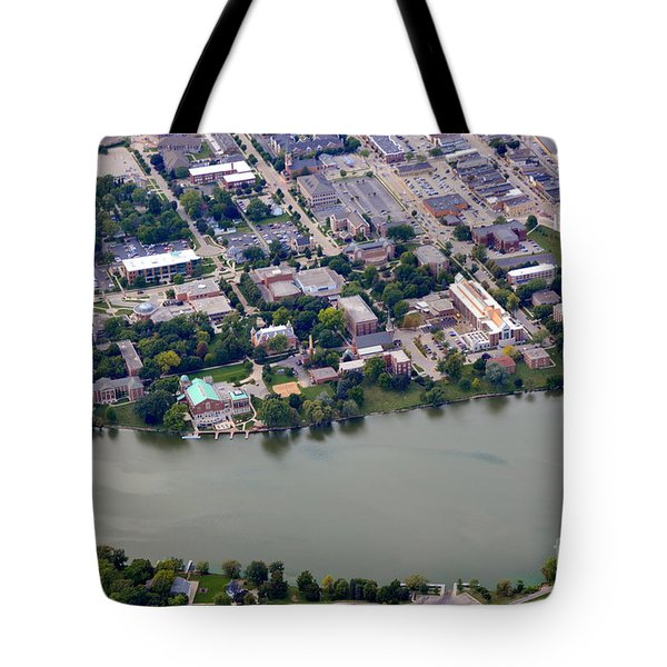 Tote Bag featuring the photograph St. Norberts University by Bill Lang