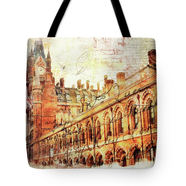 St Pancras Tote Bag by Nicky Jameson