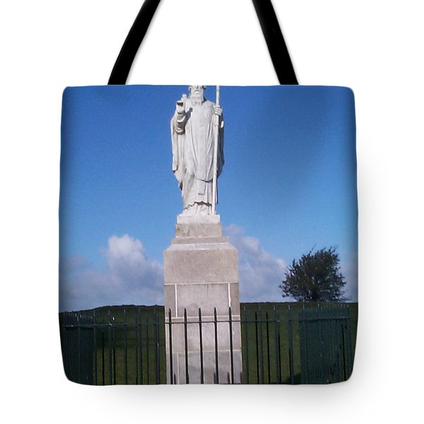 Tote Bag featuring the photograph St Patrick by Charles Kraus
