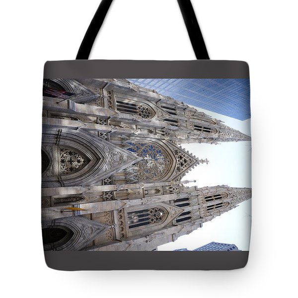 St Patrick's Cathedral Nyc Tote Bag