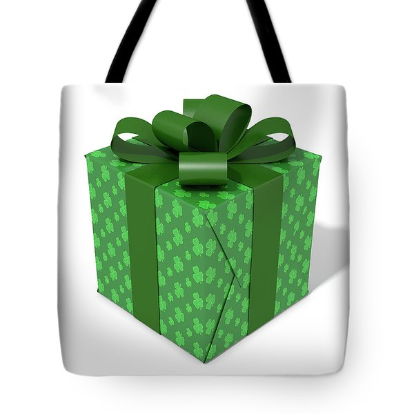 St Patricks Day Cube Gift Tote Bag