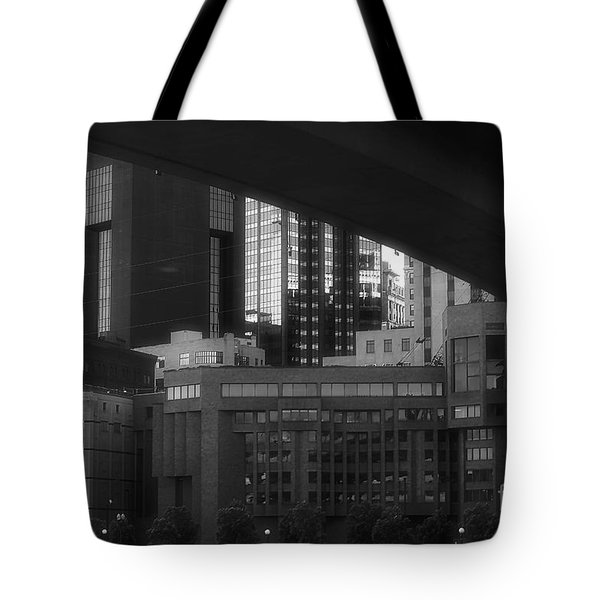 St. Paul At Dusk Tote Bag by Kate Purdy