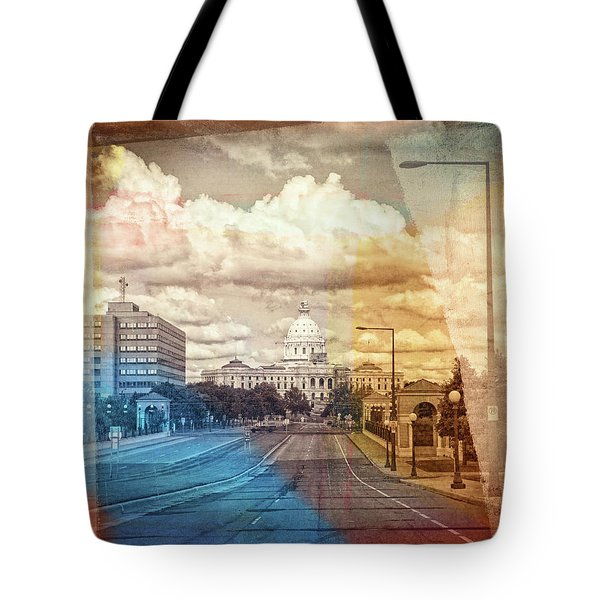 Tote Bag featuring the photograph St. Paul Capital Building by Susan Stone