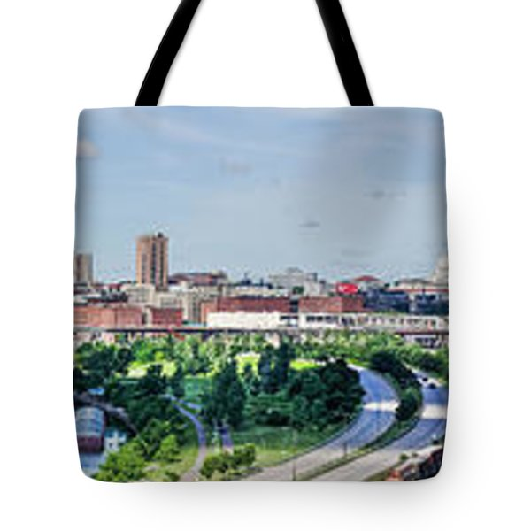Tote Bag featuring the photograph St. Paul by Dan Traun