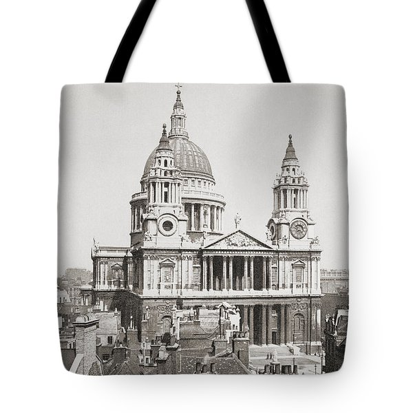 St. Paul S Cathedral, London, England Tote Bag