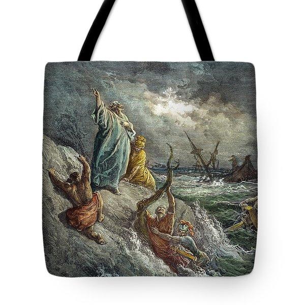 St. Paul Shipwreck Tote Bag