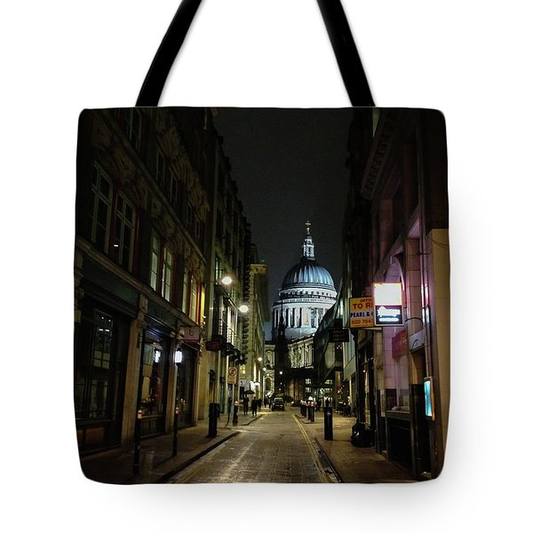 St. Pauls By Night Tote Bag