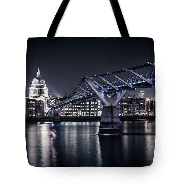 Tote Bag featuring the photograph St Pauls Cathedral by James Billings