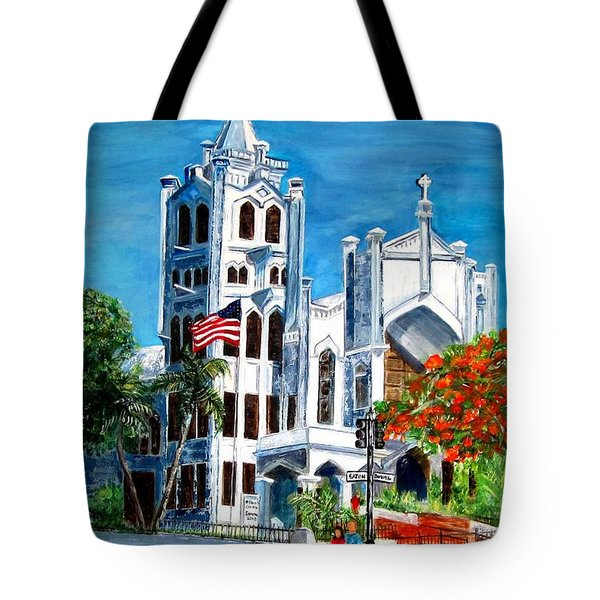St. Paul's Church  Tote Bag