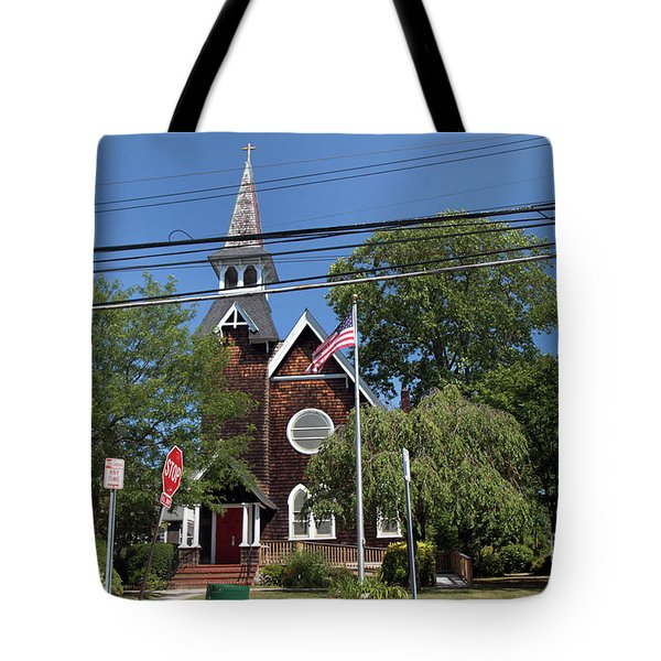 St Pauls Episcopal Church Patchogue Tote Bag