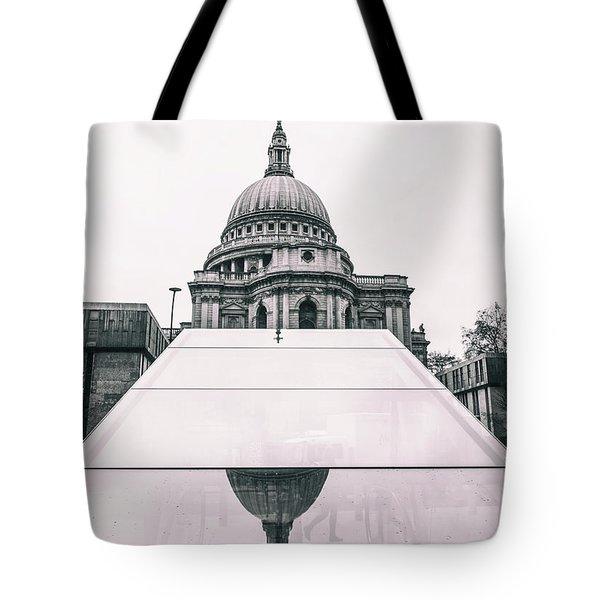 St Pauls Reflections Tote Bag