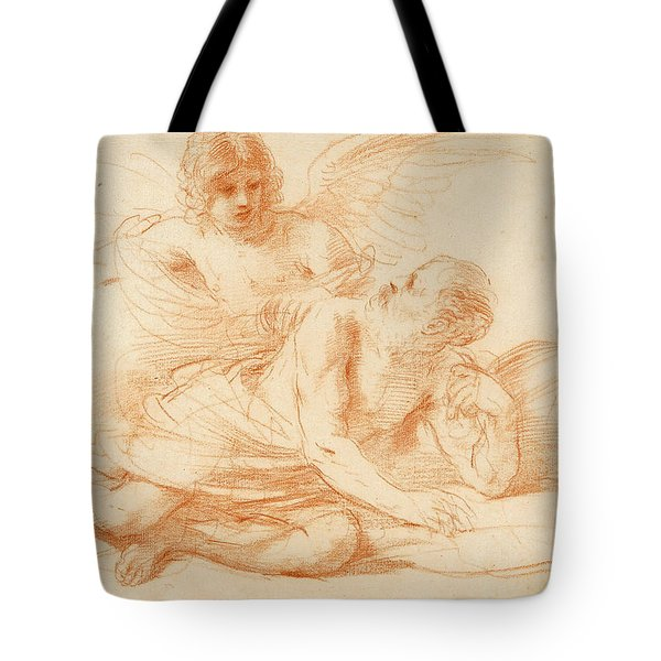 St Peter And The Angel Tote Bag