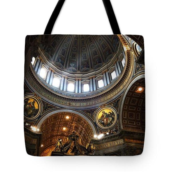 St Peter's Basilia Tote Bag