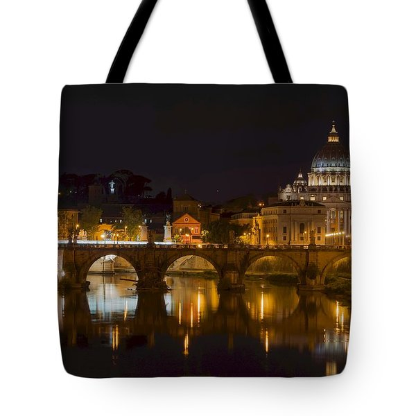 St. Peter's Basilica-655 Tote Bag by Alex Ursache