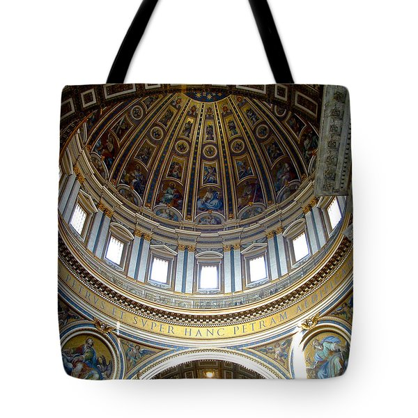St. Peters Basilica Dome Tote Bag